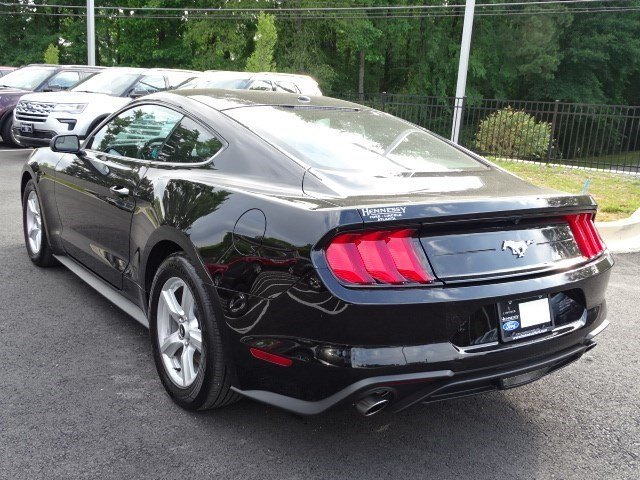 2019 Shadow Black Ford Mustang EcoBoost 2 Door Intercooled Turbo Premium Unleaded I-4 2.3 L/140 Engine Coupe RWD