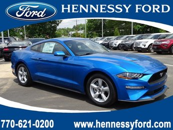 2019 Ford Mustang EcoBoost 2 Door RWD Intercooled Turbo Premium Unleaded I-4 2.3 L/140 Engine Automatic