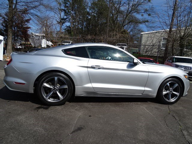 2017 Ingot Silver Metallic Ford Mustang EcoBoost 2 Door Automatic Intercooled Turbo Premium Unleaded I-4 2.3 L/140 Engine RWD