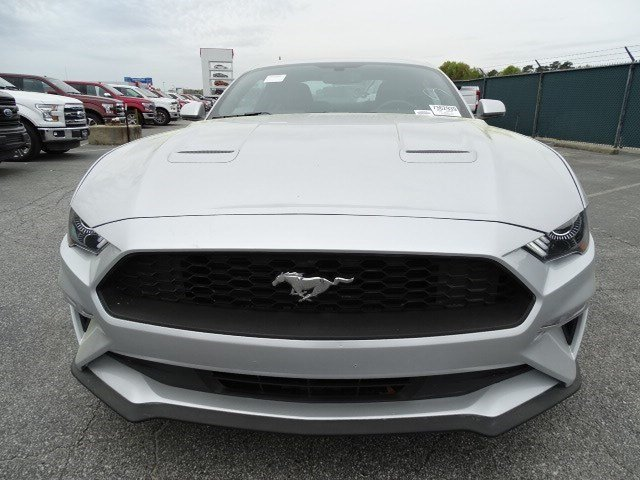 2018 Ingot Silver Metallic Ford Mustang EcoBoost Automatic Intercooled Turbo Premium Unleaded I-4 2.3 L/140 Engine RWD Coupe 2 Door
