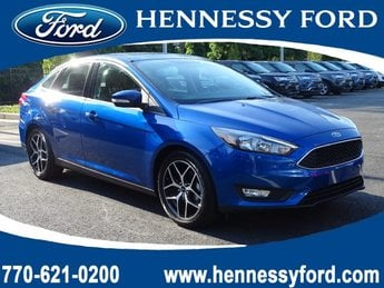 2018 Ford Focus SEL 4 Door Sedan Automatic