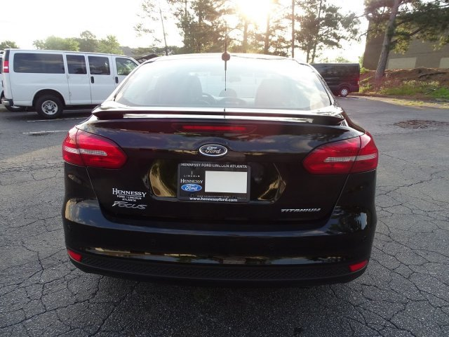 2018 Ford Focus Titanium 4 Door Automatic FWD Sedan