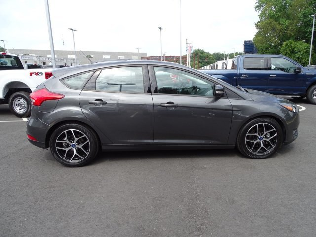 2018 Magnetic Metallic Ford Focus SEL 4 Door Hatchback FWD Regular Unleaded I-4 2.0 L/122 Engine