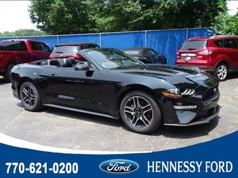 2018 Ford Mustang EcoBoost Premium Automatic 2 Door Convertible Intercooled Turbo Premium Unleaded I-4 2.3 L/140 Engine