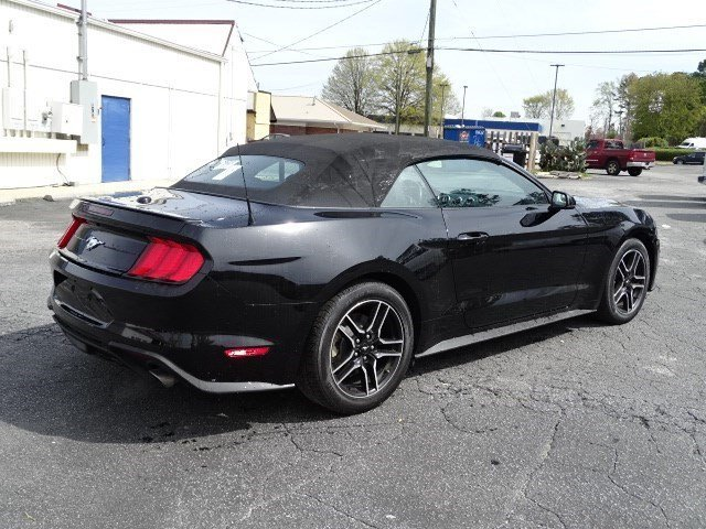 2018 Ford Mustang EcoBoost Premium Automatic Convertible 2 Door Intercooled Turbo Premium Unleaded I-4 2.3 L/140 Engine