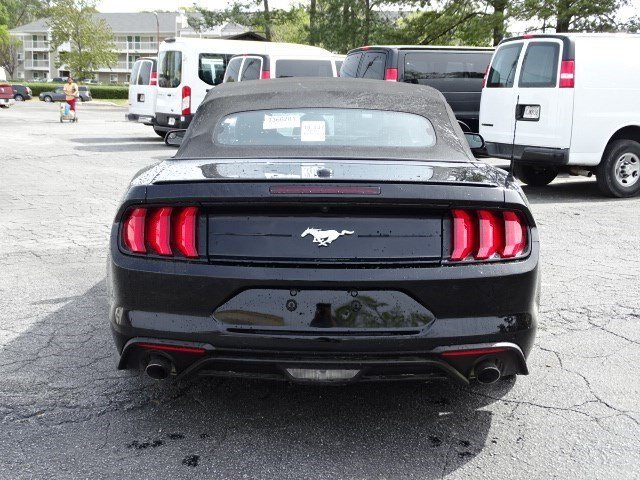 2018 Ford Mustang EcoBoost Premium Intercooled Turbo Premium Unleaded I-4 2.3 L/140 Engine 2 Door Convertible Automatic RWD