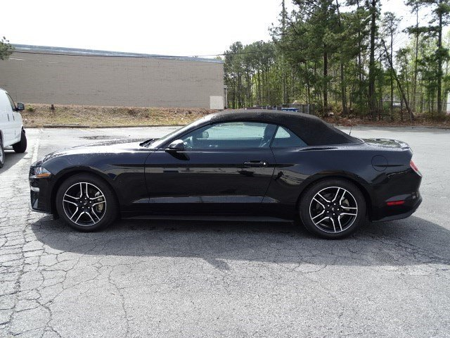 2018 Ford Mustang EcoBoost Premium Automatic Convertible RWD 2 Door Intercooled Turbo Premium Unleaded I-4 2.3 L/140 Engine