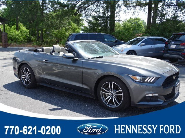 2017 Ford Mustang EcoBoost Premium Convertible Automatic Intercooled Turbo Premium Unleaded I-4 2.3 L/140 Engine