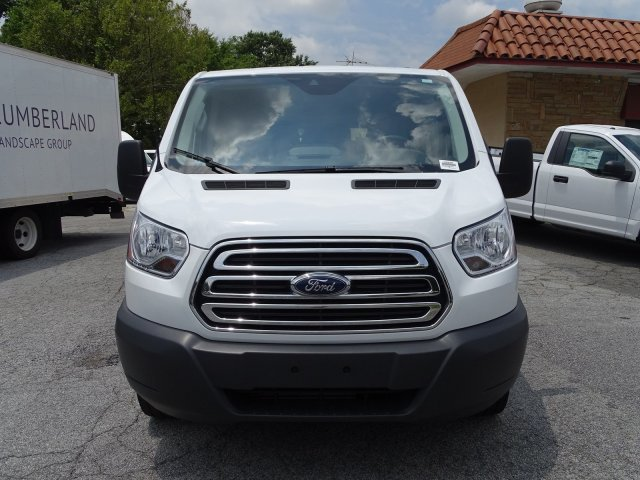 2018 Oxford White Ford Transit Passenger Wagon XLT Twin Turbo Regular Unleaded V-6 3.5 L/213 Engine Automatic 3 Door RWD Van