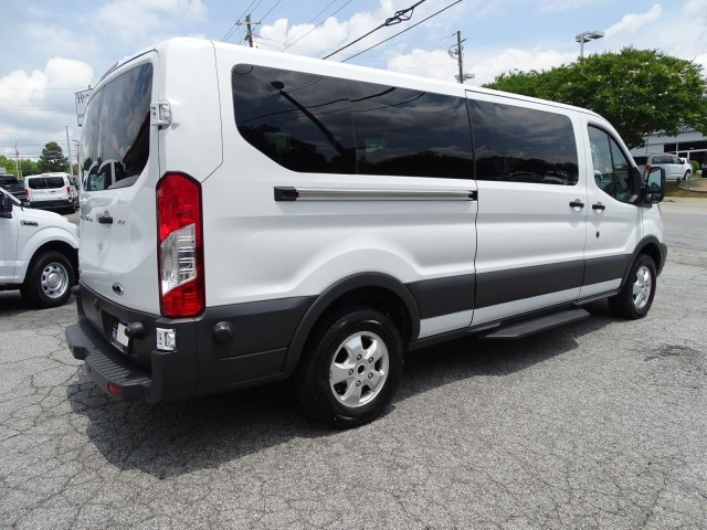 2018 Oxford White Ford Transit Passenger Wagon XLT Twin Turbo Regular Unleaded V-6 3.5 L/213 Engine Automatic RWD Van 3 Door