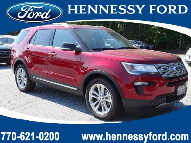 2019 Ford Explorer XLT Regular Unleaded V-6 3.5 L/213 Engine FWD Automatic