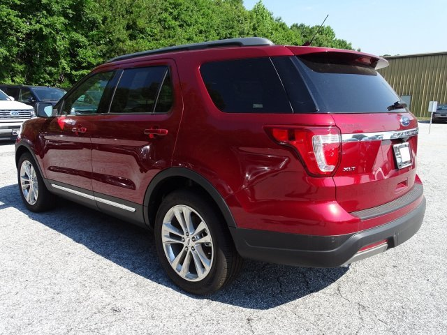 2019 Ford Explorer XLT 4 Door SUV Regular Unleaded V-6 3.5 L/213 Engine FWD Automatic