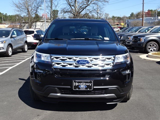 2019 Agate Black Metallic Ford Explorer XLT 4 Door Automatic FWD SUV
