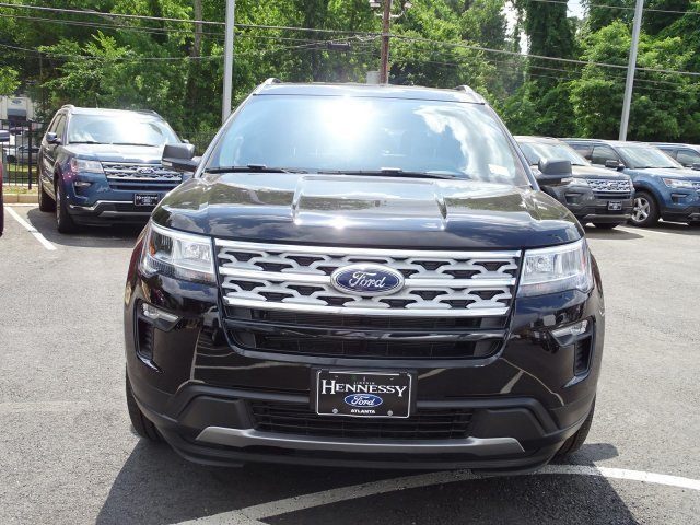 2019 Agate Black Metallic Ford Explorer XLT FWD Regular Unleaded V-6 3.5 L/213 Engine 4 Door SUV Automatic