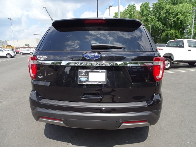 2019 Agate Black Metallic Ford Explorer XLT SUV Regular Unleaded V-6 3.5 L/213 Engine Automatic 4 Door