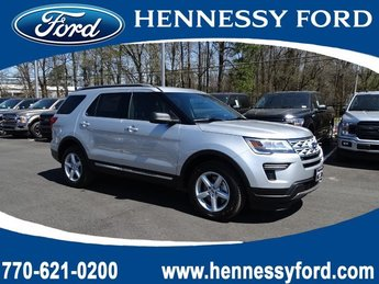 2019 Ingot Silver Metallic Ford Explorer XLT FWD Intercooled Turbo Premium Unleaded I-4 2.3 L/140 Engine SUV