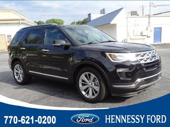 2019 Ford Explorer Limited Automatic Intercooled Turbo Premium Unleaded I-4 2.3 L/140 Engine FWD