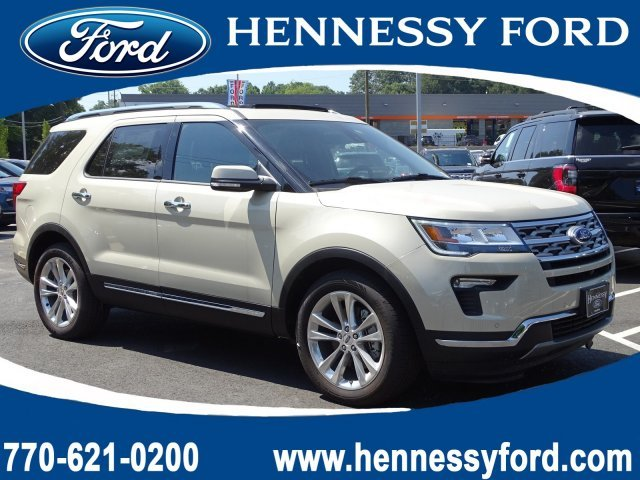2018 Ford Explorer Limited Intercooled Turbo Premium Unleaded I-4 2.3 L/140 Engine FWD Automatic 4 Door SUV