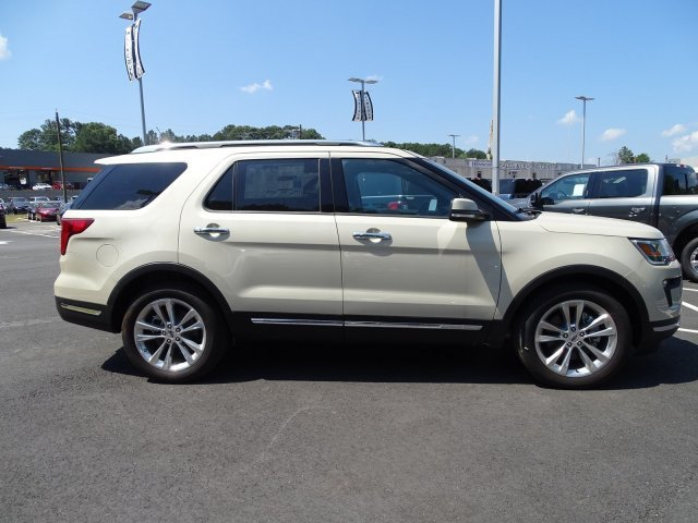 2018 Ford Explorer Limited Automatic 4 Door Intercooled Turbo Premium Unleaded I-4 2.3 L/140 Engine