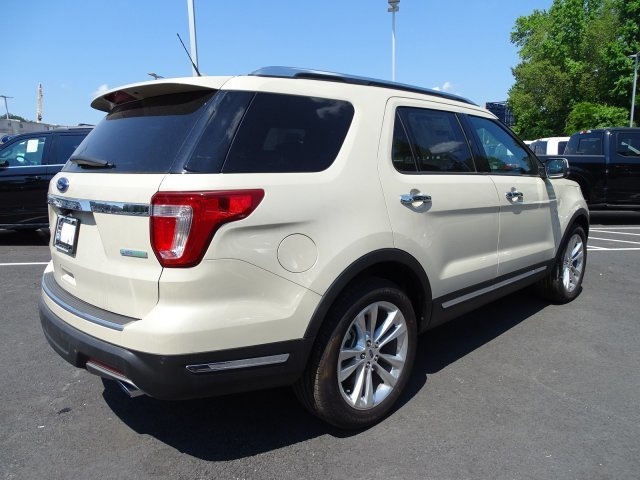 2018 Ford Explorer Limited SUV 4 Door Automatic FWD Intercooled Turbo Premium Unleaded I-4 2.3 L/140 Engine