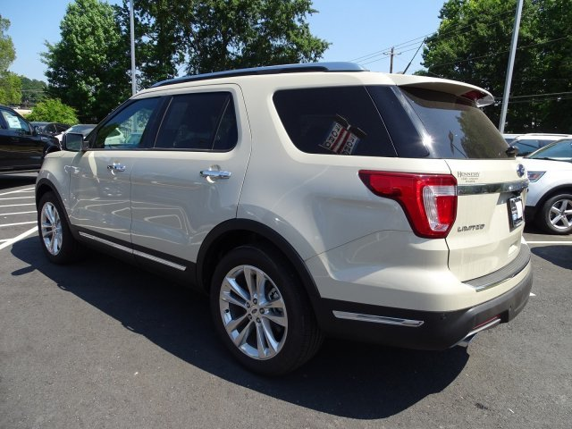 2018 Ford Explorer Limited Intercooled Turbo Premium Unleaded I-4 2.3 L/140 Engine Automatic SUV 4 Door FWD