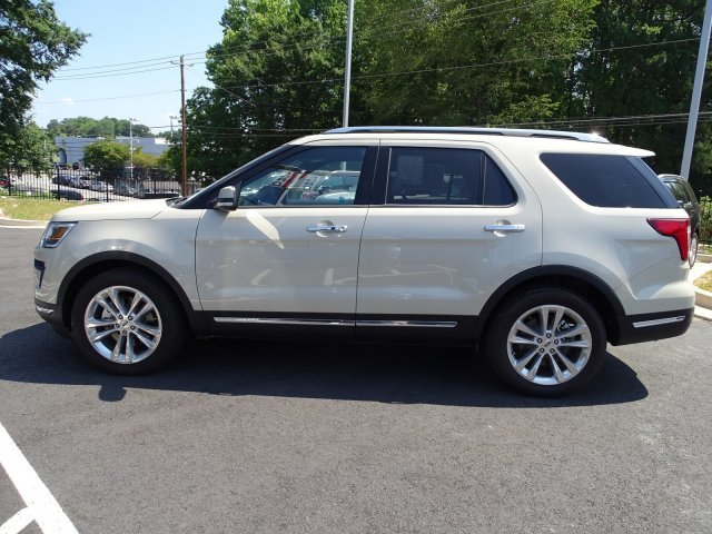 2018 Ford Explorer Limited FWD Automatic 4 Door SUV Intercooled Turbo Premium Unleaded I-4 2.3 L/140 Engine
