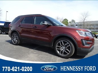 2016 Ford Explorer Sport SUV Twin Turbo Premium Unleaded V-6 3.5 L/213 Engine 4 Door AWD Automatic