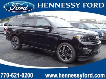 2019 Agate Black Metallic Ford Expedition Max Limited Automatic Twin Turbo Premium Unleaded V-6 3.5 L/213 Engine RWD 4 Door