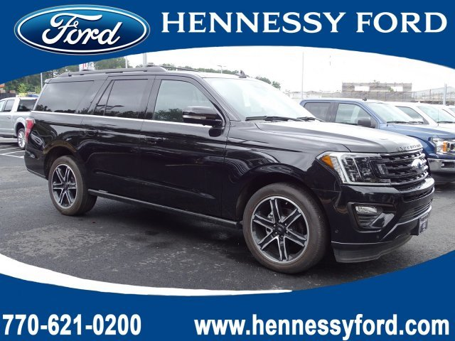 2019 Agate Black Metallic Ford Expedition Max Limited Twin Turbo Premium Unleaded V-6 3.5 L/213 Engine Automatic SUV 4 Door