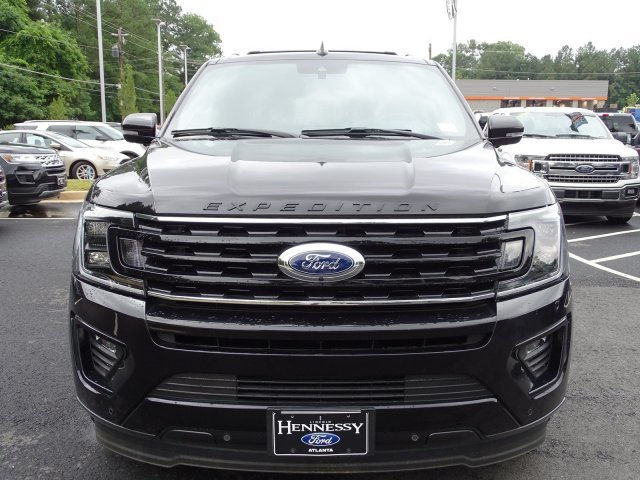 2019 Agate Black Metallic Ford Expedition Max Limited Automatic SUV Twin Turbo Premium Unleaded V-6 3.5 L/213 Engine RWD