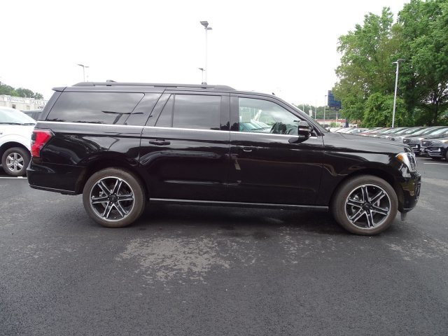 2019 Agate Black Metallic Ford Expedition Max Limited SUV Twin Turbo Premium Unleaded V-6 3.5 L/213 Engine RWD 4 Door Automatic