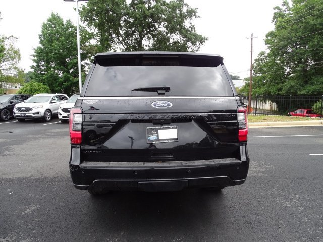 2019 Agate Black Metallic Ford Expedition Max Limited 4 Door Automatic RWD Twin Turbo Premium Unleaded V-6 3.5 L/213 Engine