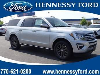 2019 Ingot Silver Metallic Ford Expedition Max Limited 4 Door Twin Turbo Premium Unleaded V-6 3.5 L/213 Engine SUV Automatic RWD