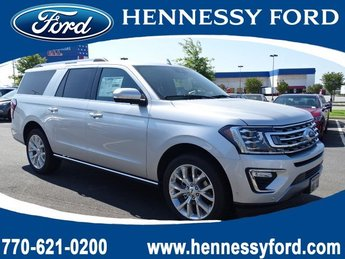 2019 Ingot Silver Metallic Ford Expedition Max Limited RWD Automatic SUV Twin Turbo Premium Unleaded V-6 3.5 L/213 Engine