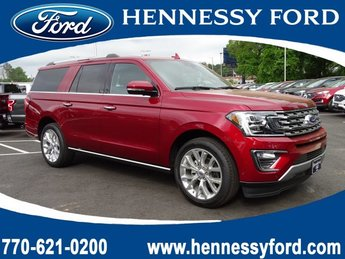 2019 Ruby Red Metallic Tinted Clearcoat Ford Expedition Max Limited 4 Door Automatic SUV