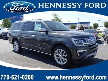 2019 Magnetic Metallic Ford Expedition Max Platinum Automatic 4 Door RWD SUV Twin Turbo Premium Unleaded V-6 3.5 L/213 Engine