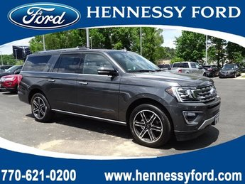 2019 Magnetic Metallic Ford Expedition Max Limited 4 Door 4X4 SUV Twin Turbo Premium Unleaded V-6 3.5 L/213 Engine
