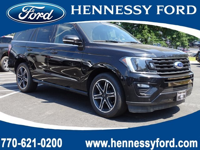 2019 Agate Black Metallic Ford Expedition Limited 4 Door Automatic RWD