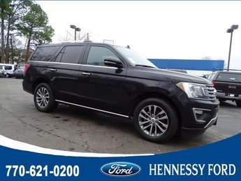 2018 Shadow Black Ford Expedition Limited Twin Turbo Regular Unleaded V-6 3.5 L/213 Engine RWD 4 Door SUV Automatic