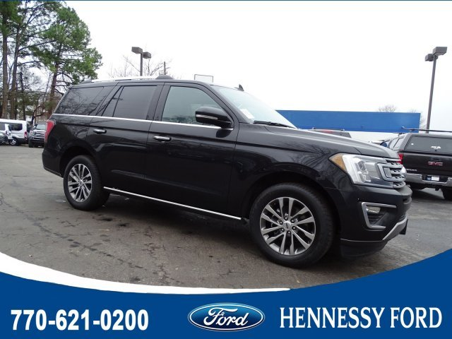 2018 Shadow Black Ford Expedition Limited 4 Door SUV Twin Turbo Regular Unleaded V-6 3.5 L/213 Engine RWD