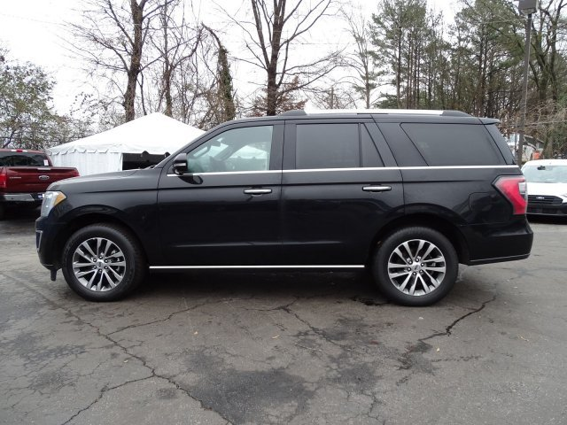 2018 Shadow Black Ford Expedition Limited 4 Door SUV Twin Turbo Regular Unleaded V-6 3.5 L/213 Engine
