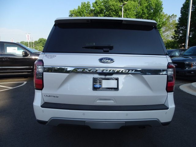 2019 White Platinum Metallic Tri-Coat Ford Expedition Limited 4 Door Twin Turbo Premium Unleaded V-6 3.5 L/213 Engine SUV Automatic RWD