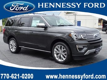 2019 Magnetic Metallic Ford Expedition Platinum SUV Automatic 4 Door Twin Turbo Premium Unleaded V-6 3.5 L/213 Engine