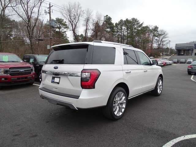 2019 White Platinum Metallic Tri-Coat Ford Expedition Limited 4 Door 4X4 Automatic