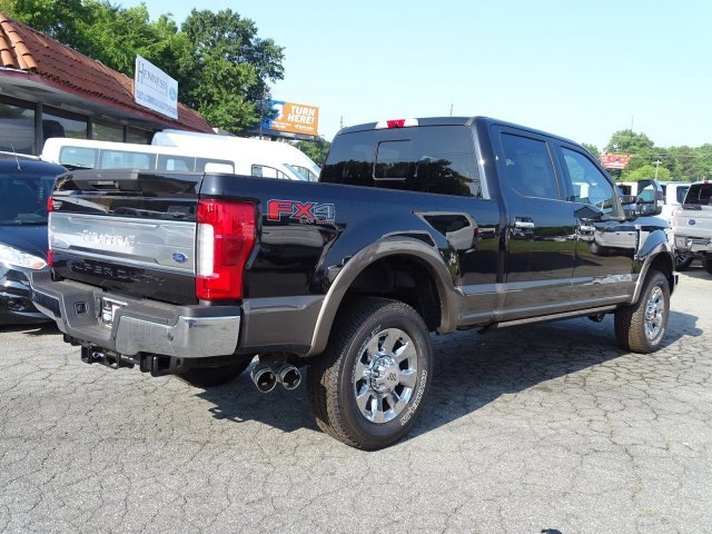 2019 Ford Super Duty F-250 SRW King Ranch Intercooled Turbo Diesel V-8 6.7 L/406 Engine 4 Door Automatic 4X4 Truck