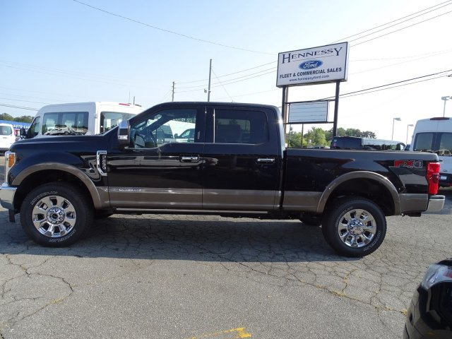 2019 Agate Black Metallic Ford Super Duty F-250 SRW King Ranch Truck Automatic 4X4 Intercooled Turbo Diesel V-8 6.7 L/406 Engine 4 Door