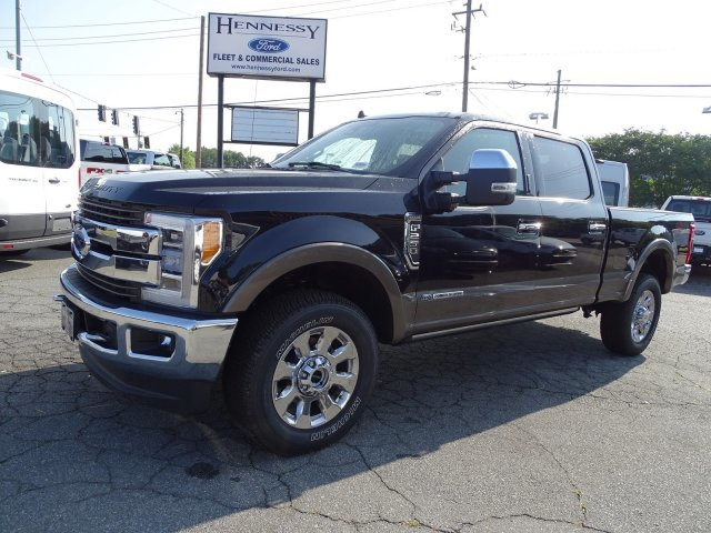 2019 Agate Black Metallic Ford Super Duty F-250 SRW King Ranch 4X4 Intercooled Turbo Diesel V-8 6.7 L/406 Engine 4 Door Truck Automatic