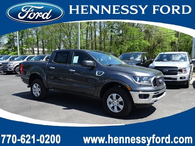 2019 Magnetic Metallic Ford Ranger XLT RWD 4 Door Intercooled Turbo Regular Unleaded I-4 2.3 L/140 Engine Automatic Truck