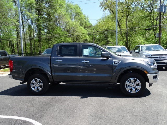 2019 Magnetic Metallic Ford Ranger XLT Intercooled Turbo Regular Unleaded I-4 2.3 L/140 Engine Truck 4 Door RWD
