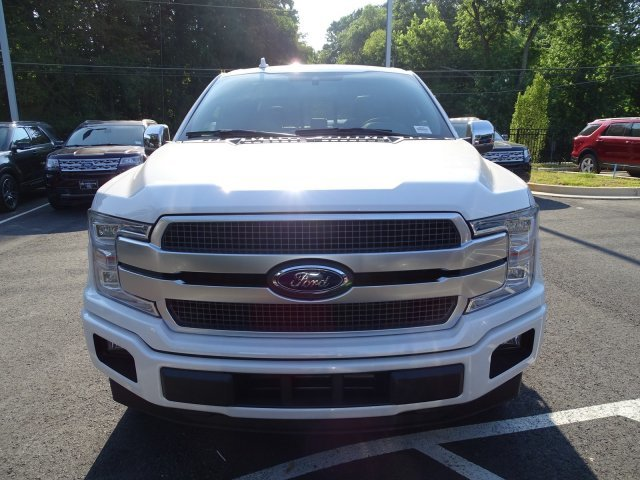 2019 White Platinum Metallic Tri-Coat Ford F-150 Platinum Automatic Twin Turbo Regular Unleaded V-6 3.5 L/213 Engine RWD